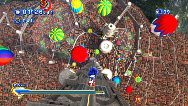 Скриншот №7 к Sonic Generations Collection