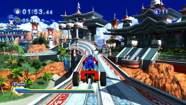 Скриншот №4 к Sonic Generations Collection