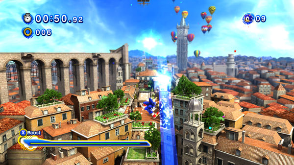 Скриншот №6 к Sonic Generations Collection