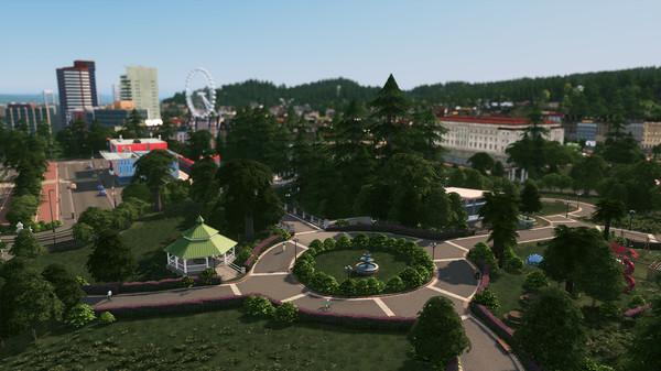 Скриншот №3 к Cities Skylines - Parklife