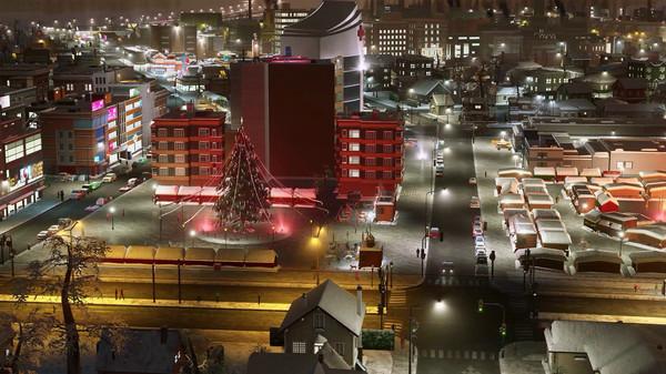 Скриншот №6 к Cities Skylines - Carols Candles and Candy