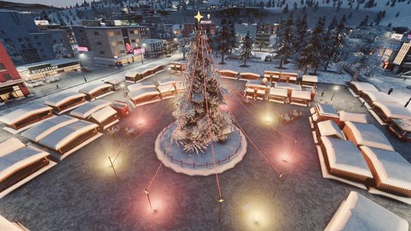 Скриншот №7 к Cities Skylines - Carols Candles and Candy