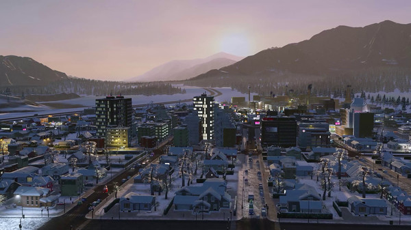 Скриншот №5 к Cities Skylines - Carols Candles and Candy