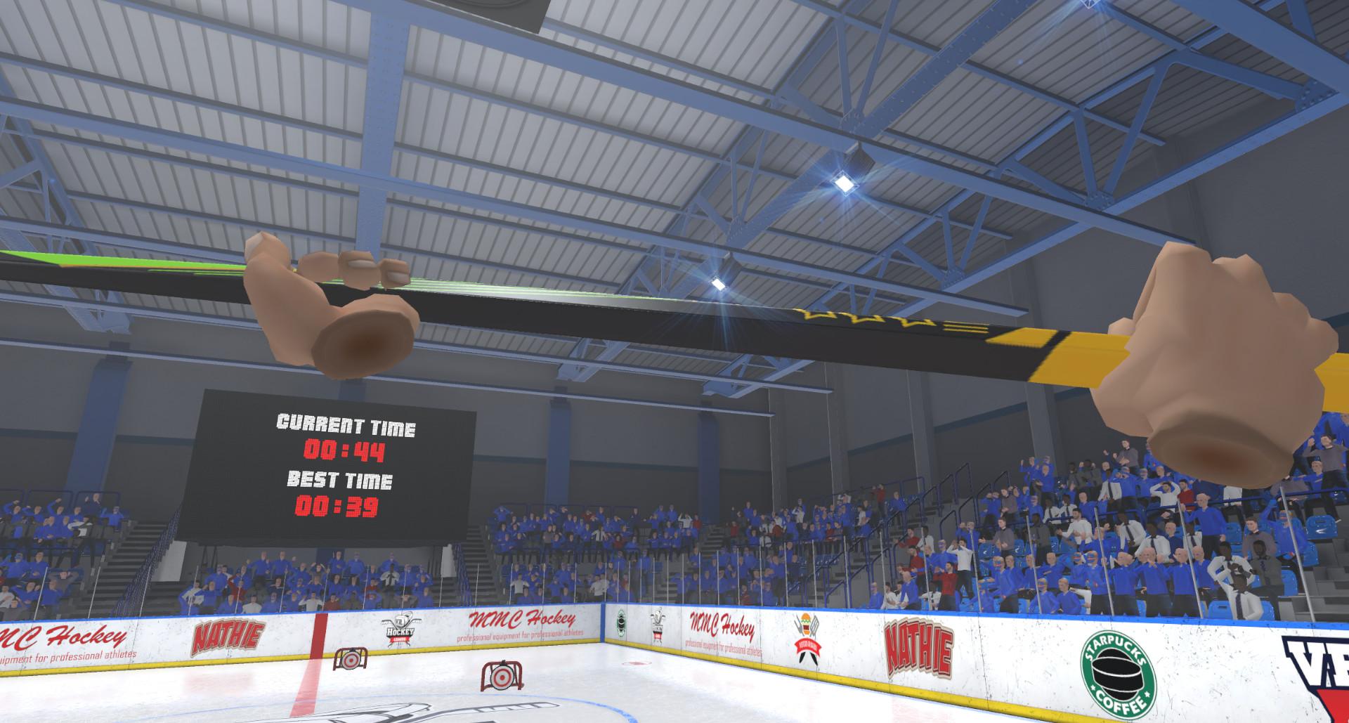 Oculus Quest 游戏《Pick-up League Hockey》冰球运动插图(1)