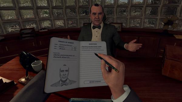Скриншот №4 к L.A. Noire The VR Case Files
