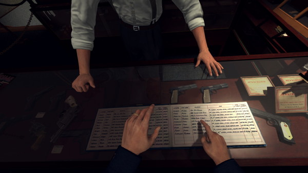 Скриншот №1 к L.A. Noire The VR Case Files