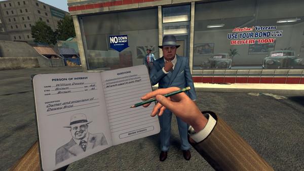 Скриншот №9 к L.A. Noire The VR Case Files