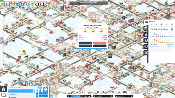 Скриншот №26 к City Game Studio a tycoon about game dev
