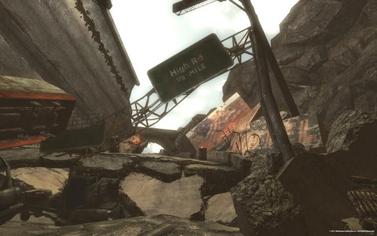 Скриншот №2 к Fallout New Vegas Lonesome Road
