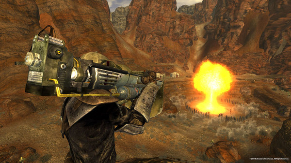 Скриншот №4 к Fallout New Vegas® Gun Runners Arsenal™