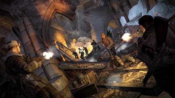 Скриншот №1 к Sniper Elite V2 Remastered