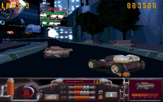 Скриншот №1 к MegaRace 1