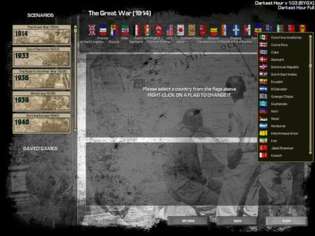 скриншот Darkest Hour: A Hearts of Iron Game 1