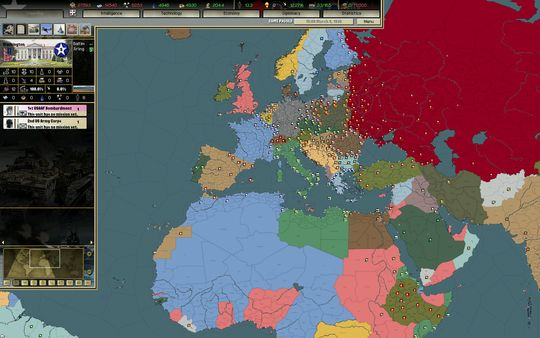 скриншот Darkest Hour: A Hearts of Iron Game 3