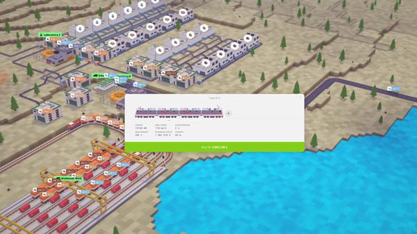 Скриншот №10 к Voxel Tycoon