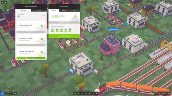 Скриншот №16 к Voxel Tycoon
