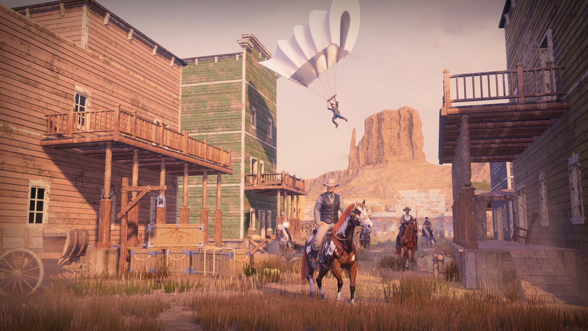 Se presenta el battle royale GRIT, ambientado en el lejano oeste que se estrenará en Steam Early Access 2