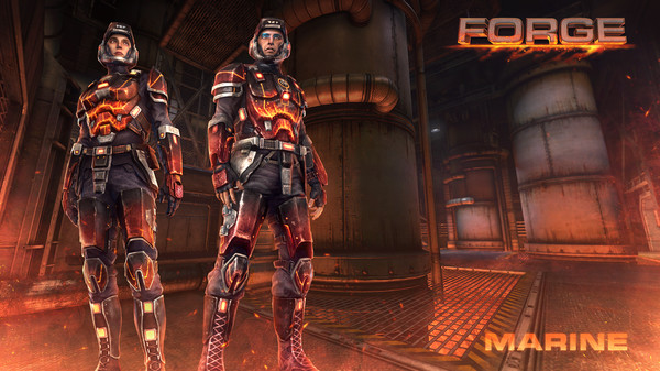 Скриншот №1 к Natural Selection 2 - Forge Pack