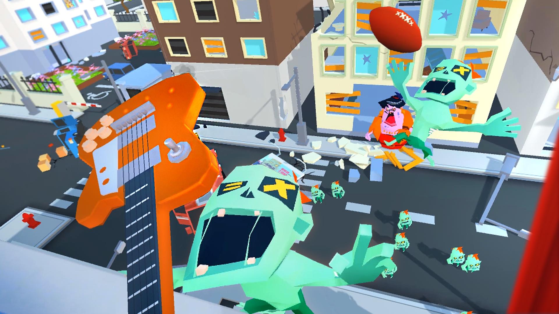 Oculus Quest 游戏《Throw Anything》扔东西砸僵尸插图(3)
