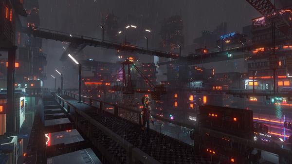 Скриншот №8 к Cloudpunk