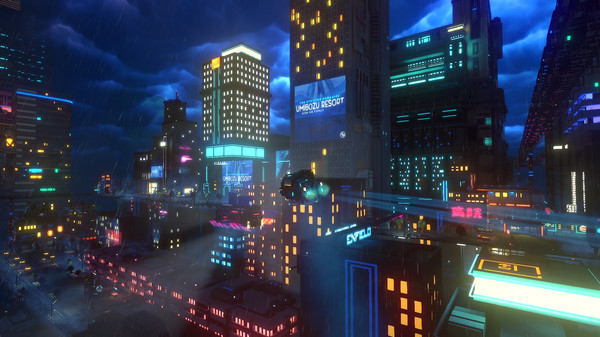 Скриншот №1 к Cloudpunk