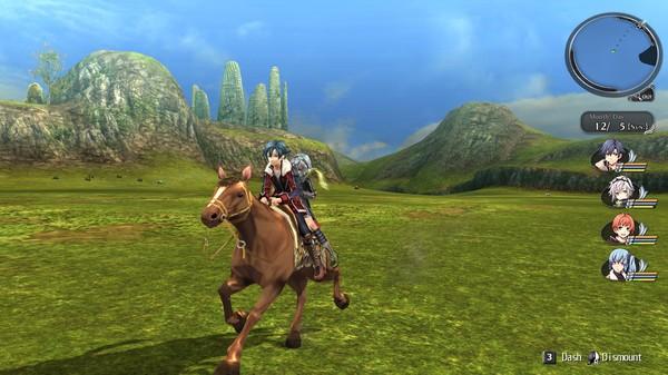 The Legend of Heroes VIII: Trails of Cold Steel II скриншот