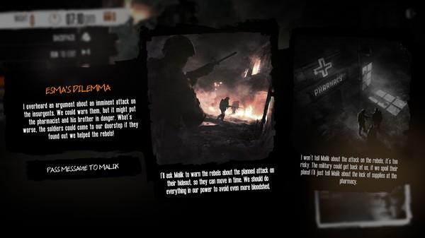 Скриншот №6 к This War of Mine Stories - Season Pass