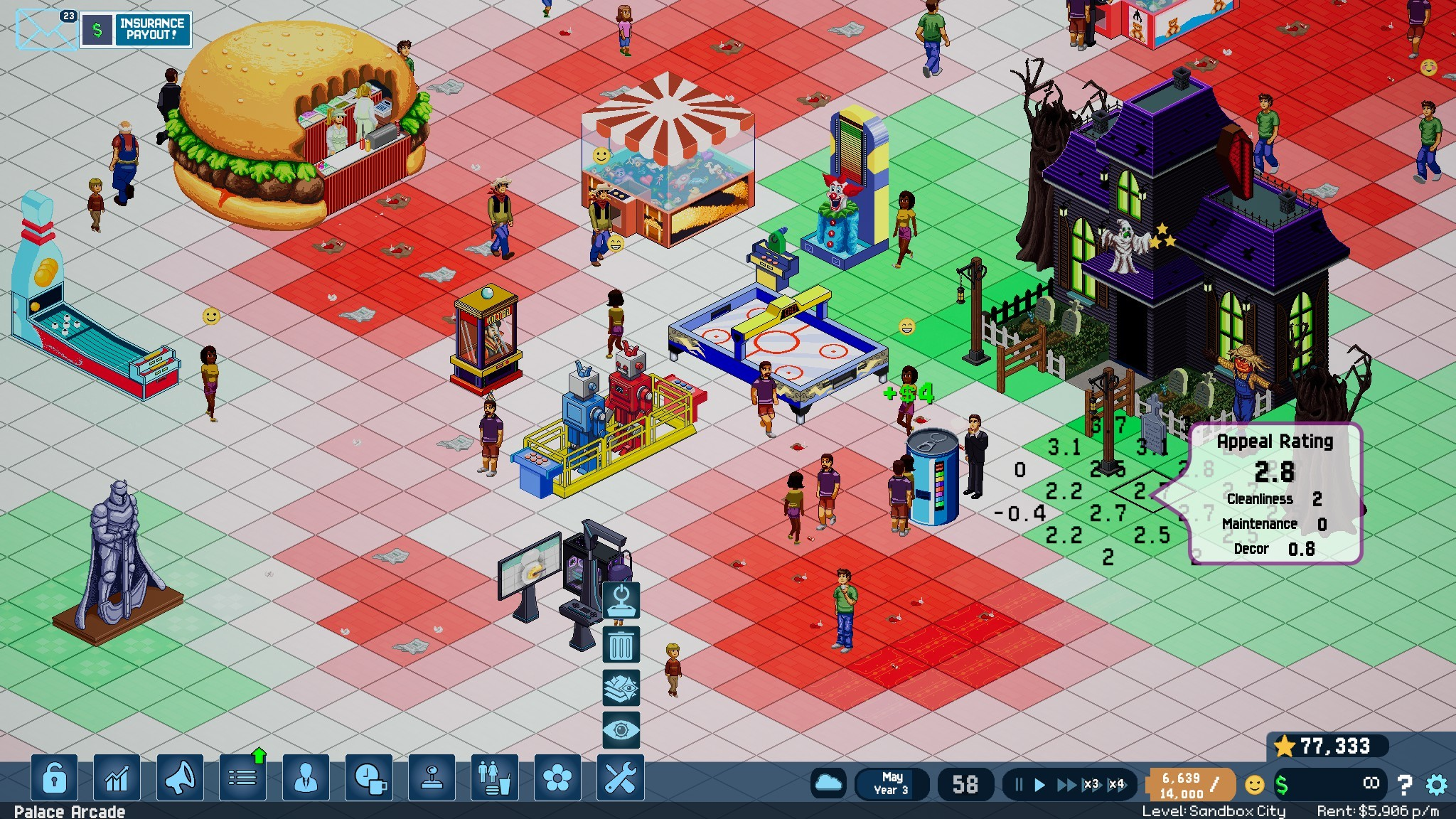 Arcade Tycoon Simulation  Free Download