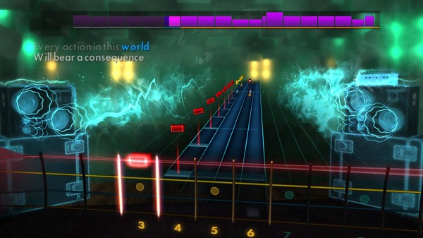 "Скриншот №2 к Rocksmith® 2014 Edition – Remastered – The Red Jumpsuit Apparatus - ""Face Down"""