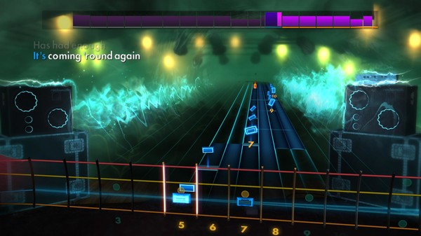 "Скриншот №1 к Rocksmith® 2014 Edition – Remastered – The Red Jumpsuit Apparatus - ""Face Down"""