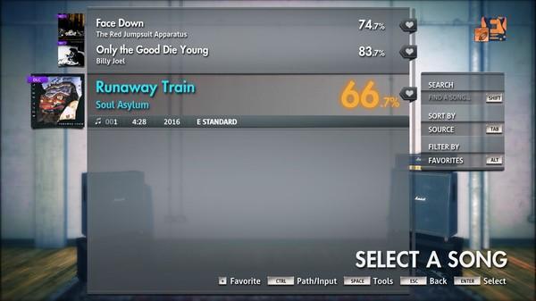 "Скриншот №1 к Rocksmith® 2014 Edition – Remastered – Soul Asylum - ""Runaway Train"""