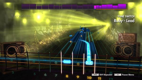 "Скриншот №3 к Rocksmith® 2014 Edition – Remastered – Kaiser Chiefs - ""Ruby"""
