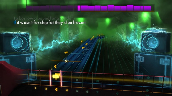 "Скриншот №4 к Rocksmith® 2014 Edition – Remastered – Kaiser Chiefs - ""I Predict a Riot"""