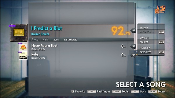 "Скриншот №3 к Rocksmith® 2014 Edition – Remastered – Kaiser Chiefs - ""I Predict a Riot"""