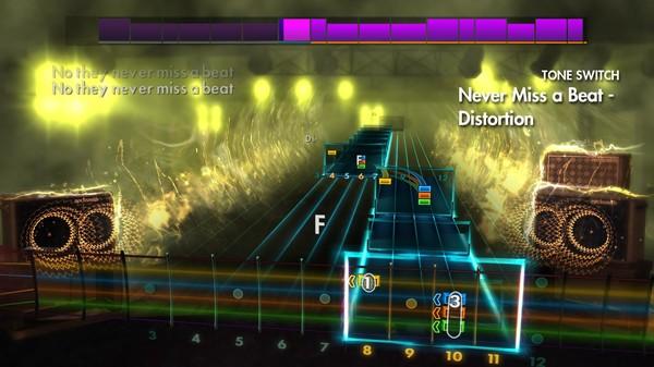"Скриншот №1 к Rocksmith® 2014 Edition – Remastered – Kaiser Chiefs - ""Never Miss a Beat"""