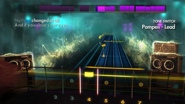 "Скриншот №3 к Rocksmith® 2014 Edition – Remastered – Bastille - ""Pompeii"""