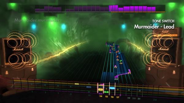 """Скриншот №3 к Rocksmith® 2014 Edition – Remastered – Dethklok - """"Murmaider"""""""