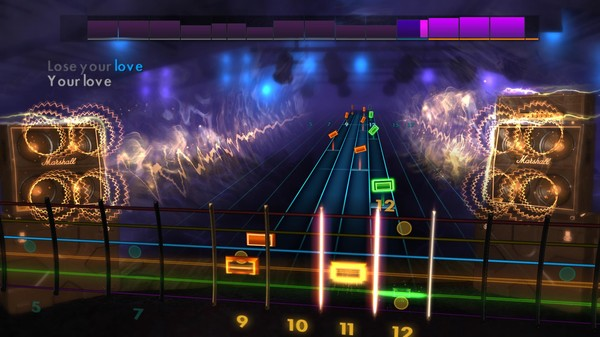 "Скриншот №5 к Rocksmith® 2014 Edition – Remastered – The Outfield - ""Your Love"""