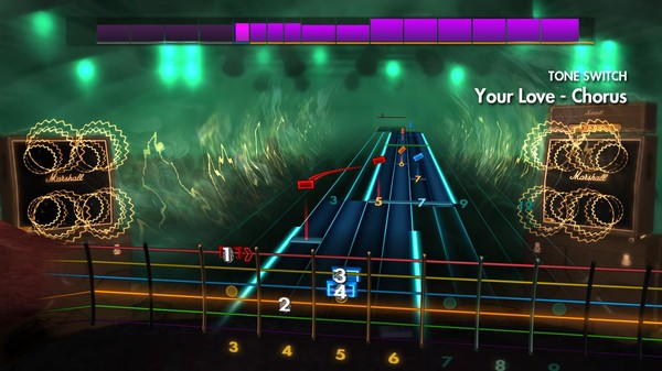 "Скриншот №1 к Rocksmith® 2014 Edition – Remastered – The Outfield - ""Your Love"""