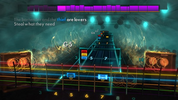 """Скриншот №1 к Rocksmith® 2014 Edition – Remastered – Stereophonics - """"The Bartender and the Thief"""""""