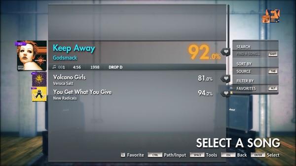 "Скриншот №1 к Rocksmith® 2014 Edition – Remastered – Godsmack - ""Keep Away"""