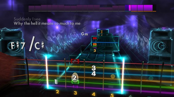 "Скриншот №2 к Rocksmith® 2014 Edition – Remastered – KT Tunstall - ""Suddenly I See"""