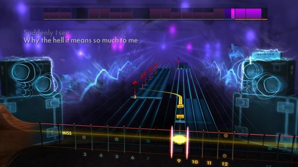 "Скриншот №5 к Rocksmith® 2014 Edition – Remastered – KT Tunstall - ""Suddenly I See"""