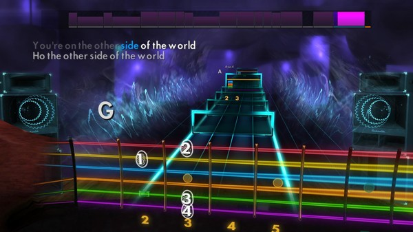 "Скриншот №2 к Rocksmith® 2014 Edition – Remastered – KT Tunstall - ""Other Side of the World"""