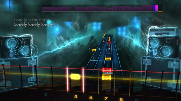 "Скриншот №3 к Rocksmith® 2014 Edition – Remastered – Billy Squier - ""Lonely is the Night"""