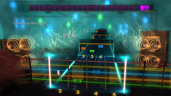 "Скриншот №5 к Rocksmith® 2014 Edition – Remastered – Billy Squier - ""Lonely is the Night"""