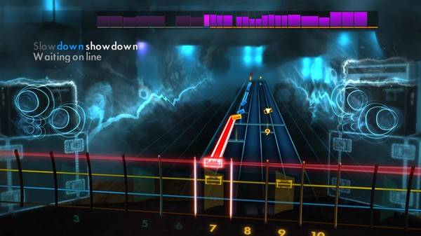 "Скриншот №2 к Rocksmith® 2014 Edition – Remastered – Billy Squier - ""Lonely is the Night"""