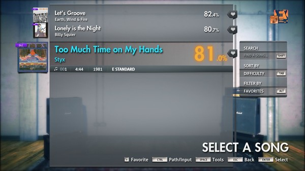 """Скриншот №4 к Rocksmith® 2014 Edition – Remastered – Styx - """"Too Much Time on My Hands"""""""