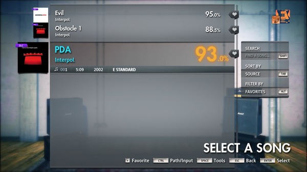 "Скриншот №5 к Rocksmith® 2014 Edition – Remastered – Interpol - ""PDA"""