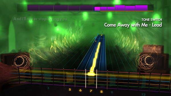 "Скриншот №1 к Rocksmith® 2014 Edition – Remastered – Norah Jones - ""Come Away with Me"""
